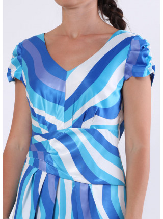 Сукня Eveline  46 Блакитна plt025/40_eu