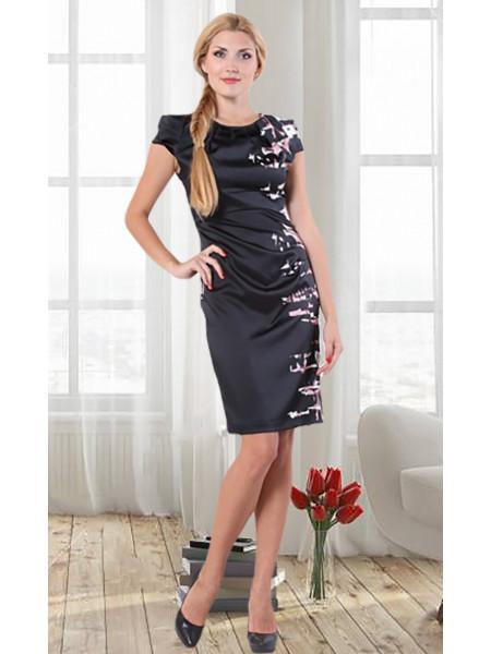 Сукня Eveline 42 Чорно-рожева plt016/36_eu