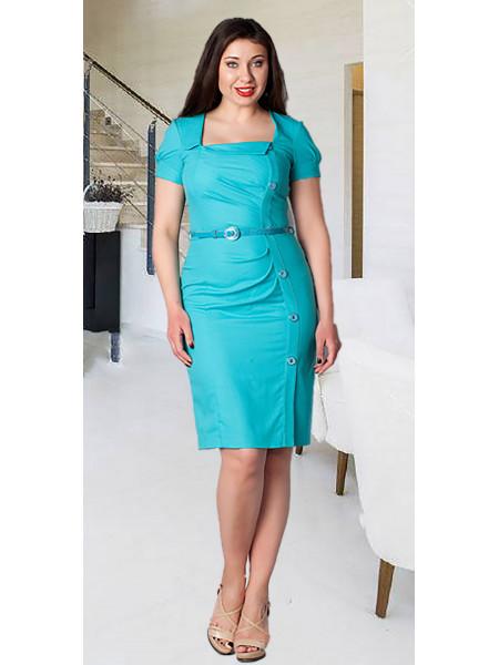 Сукня Eveline  54 Бірюзова plt023/48_eu