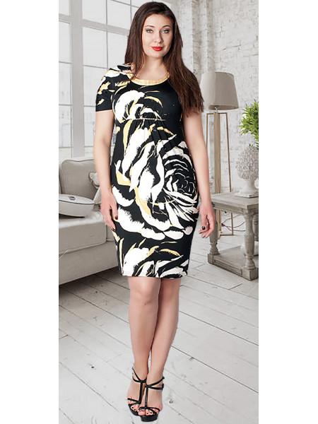 Сукня Iremoda 48 Чорно-жовта plt057/42_eu